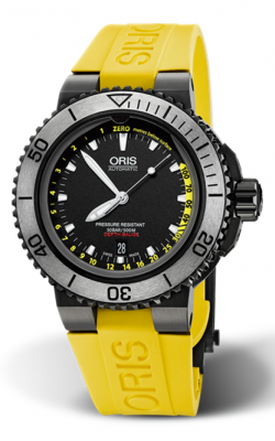 Oris Aquis Depth Gauge Watch 01 733 7675 4754-Set RS product image