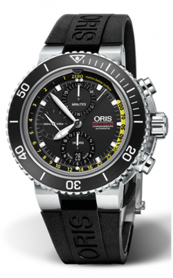 Oris Aquis Depth Gauge Watch 01 774 7708 4154-Set RS product image