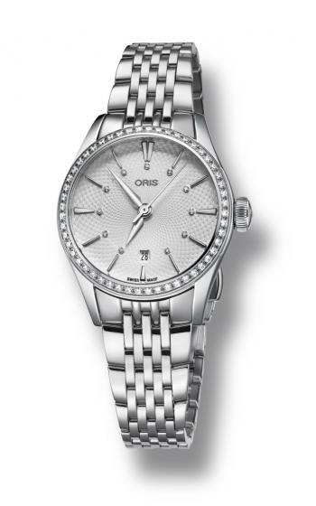 Oris Artelier Date Diamonds Watch 01 561 7722 4951-07 8 14 79 product image