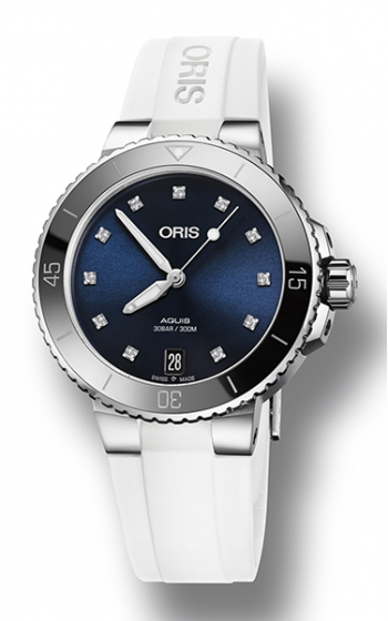 Oris Aquis Date Diamonds Watch 01 733 7731 4195-07 4 18 63FC product image