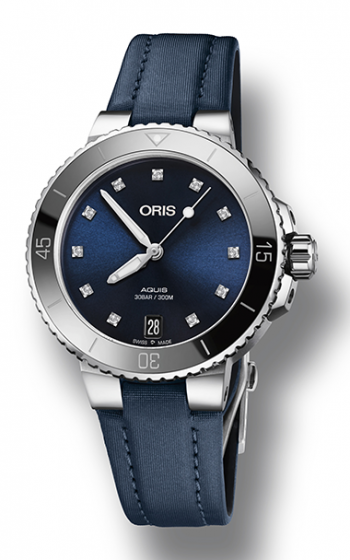 Oris Aquis Date Diamonds Watch 01 733 7731 4195-07 5 18 46FC product image