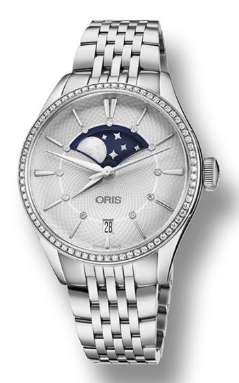 Oris Artelier Grande Lune Watch 01 763 7723 4951-07 8 18 79 product image