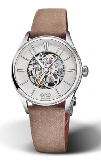Oris Artelier Skeleton Watch 01 560 7724 4051-07 5 17 33FC product image