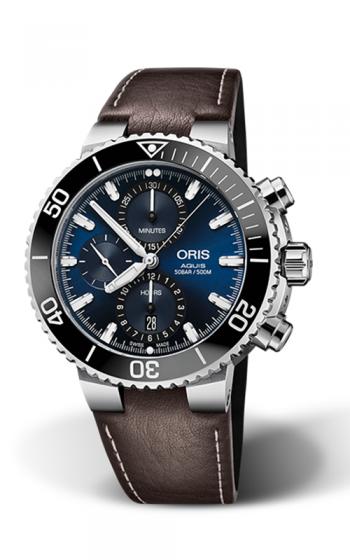 Oris Aquis Chronograph Watch 01 774 7743 4155-07 5 24 10EB product image