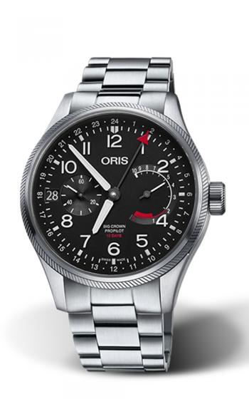 Oris Calibre 114 Watch 01 114 7746 4164-SET 8 22 19 product image