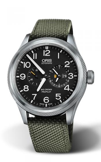 Oris Worldtimer Watch 01 690 7735 4164-07 5 22 14FC product image