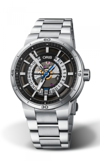 Oris TT1 Engine Date Watch 01 733 7752 4124-07 8 24 08 product image