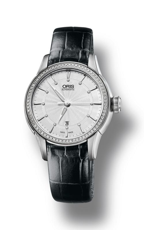 Oris Culture Artelier Date Diamonds Watch 01 561 7687 4951-07 5 14 60FC product image