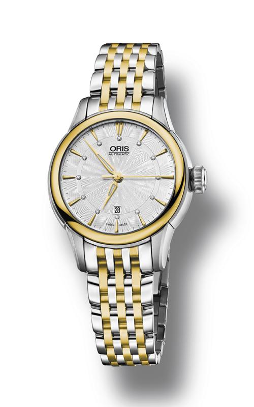 Oris Culture Artelier Date Diamonds Watch 01 561 7687 4351-07 8 14 78 product image