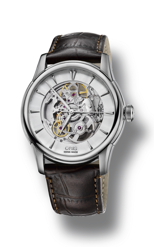 Oris Culture Artelier Skeleton Watch 01 734 7670 4051-07 5 21 70FC product image
