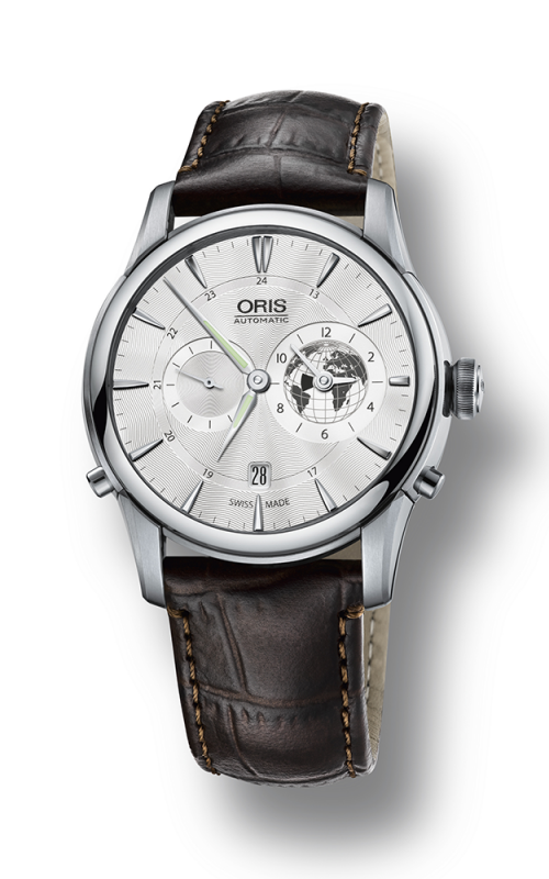 Oris Culture Artelier Greenwich Mean Time Limited Edition Watch 01 690 7690 4081-07 5 22 70FC product image