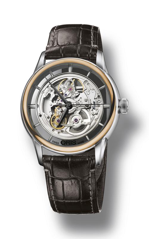 Oris Culture Artelier Translucent Skeleton Watch 01 734 7684 6351-07 1 21 73FC product image