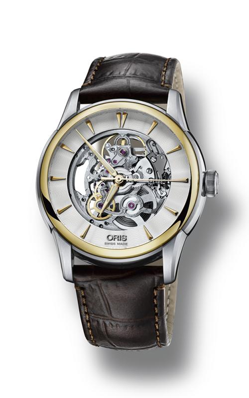 Oris Culture Artelier Skeleton Watch 01 734 7670 4351-07 5 21 70FC product image