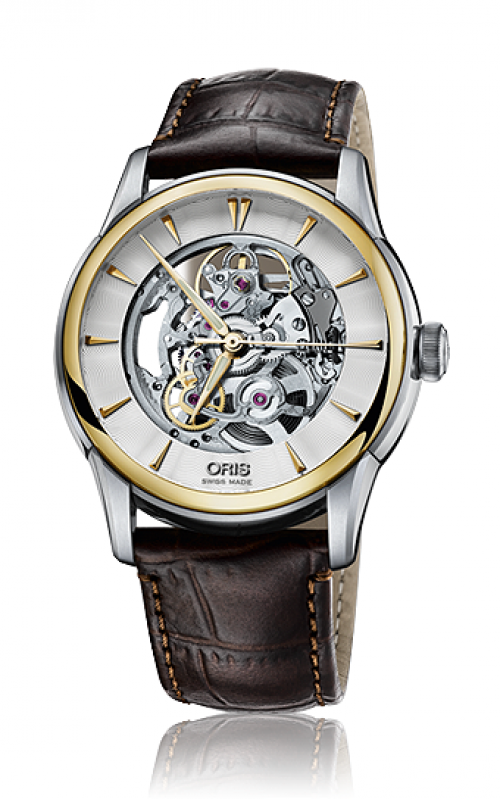 Oris Culture Artelier Skeleton Watch 01 734 7670 4351-07 1 21 73FC product image