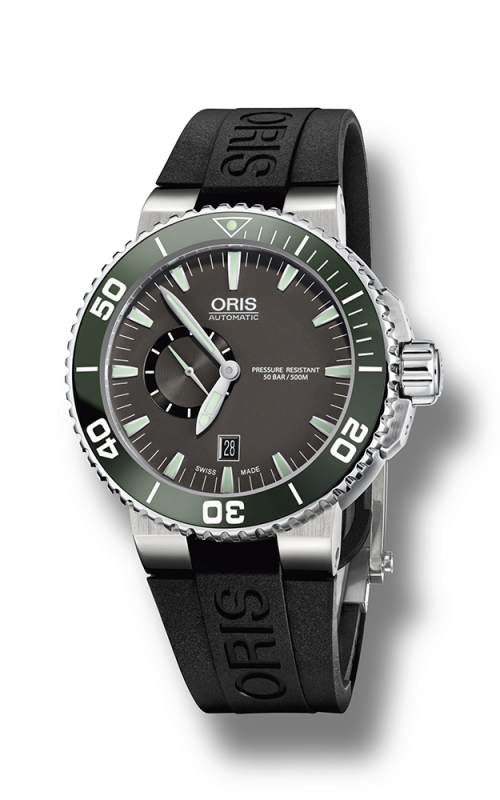 Oris Diving Aquis Small Second, Date Watch 01 743 7673 4137-07 4 26 34EB product image
