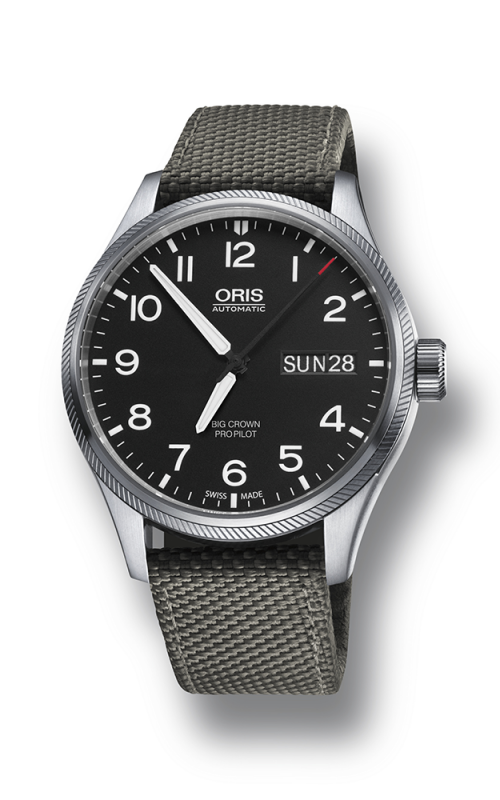 Oris Aviation Big Crown ProPilot Day Date Watch 01 752 7698 4164-07 5 22 17FC product image