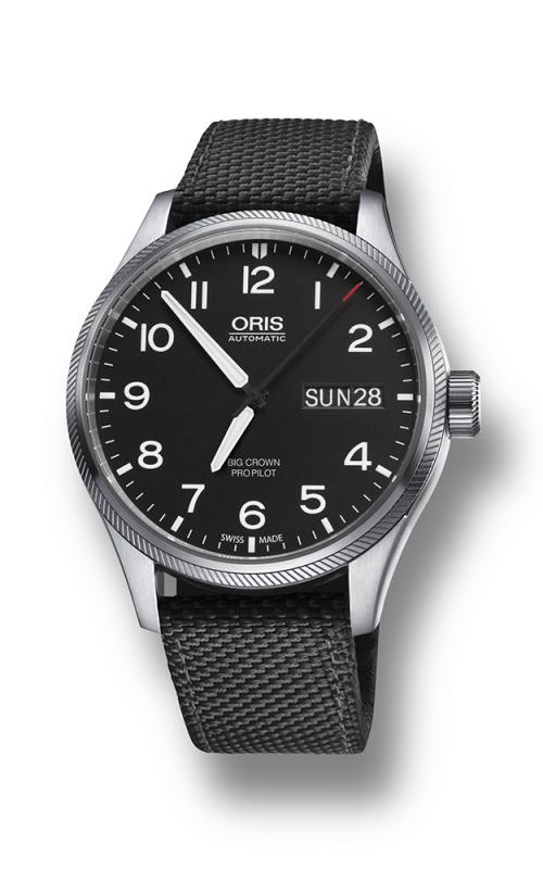 Oris Aviation Big Crown ProPilot Day Date Watch 01 752 7698 4164-07 5 22 15FC product image