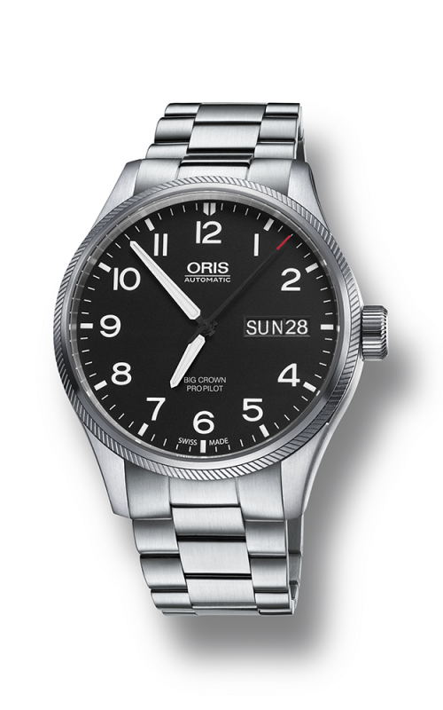 Oris Aviation Big Crown ProPilot Day Date Watch 01 752 7698 4164-07 8 22 19 product image
