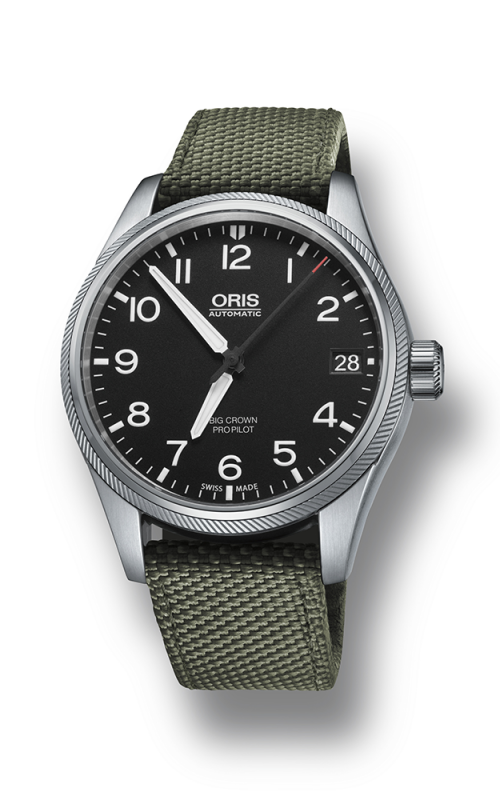 Oris Aviation Big Crown ProPilot Date Watch 01 751 7697 4164-07 5 20 14FC product image
