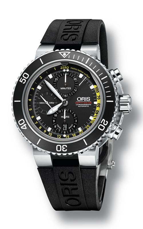Oris Diving Aquis Depth Gauge Watch 733 7675 4754 4 26 33 BEB product image