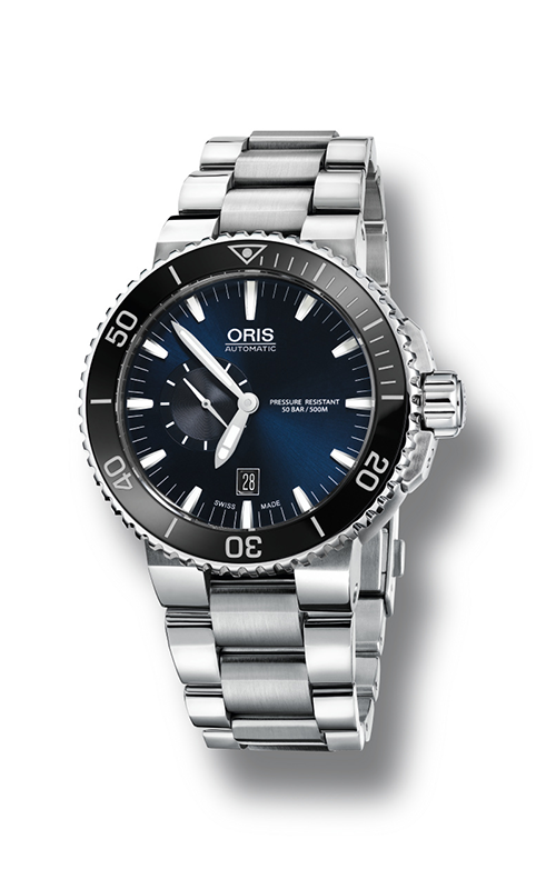 Oris Diving Aquis Small Second, Date Watch 01 743 7673 4135-07 8 26 01PEB product image