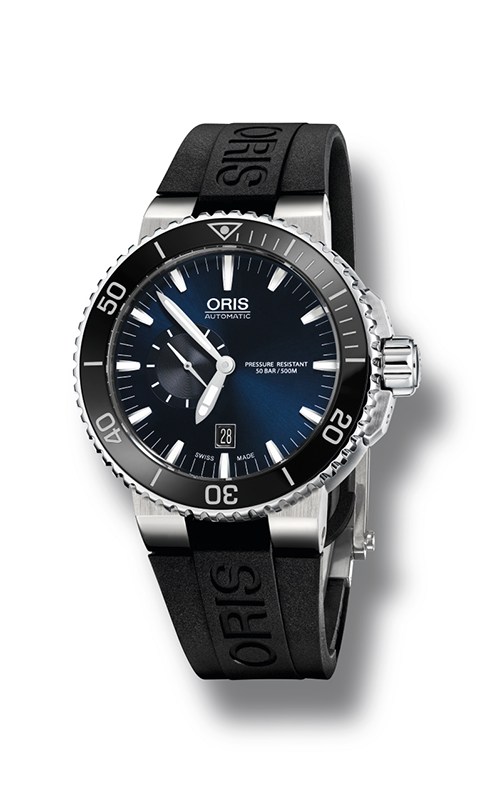 Oris Diving Aquis Small Second, Date Watch 01 743 7673 4135-07 4 26 34EB product image