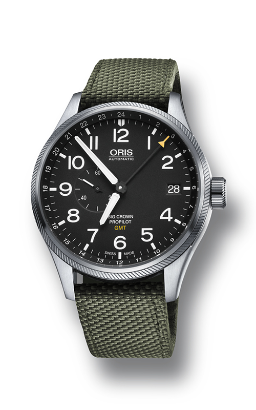 Oris Aviation Big Crown ProPilot GMT, Small Second Watch 01 748 7710 4164-07 5 22 14FC product image