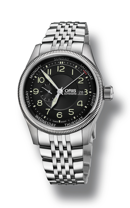Oris Aviation Big Small Second, Pointer Day Watch 01 745 7688 4034-07 8 22 30 product image