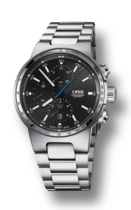 Oris Motor Sport Williams Chronograph Watch 01 774 7717 4154-07 8 24 50 product image