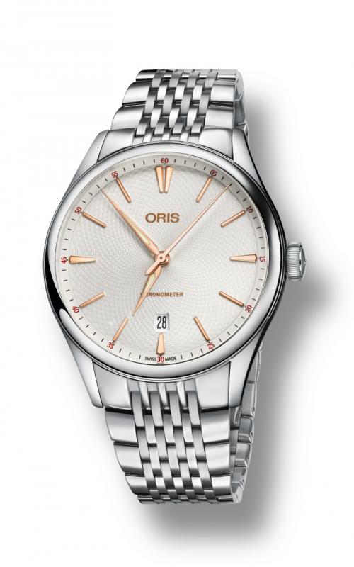 Oris Culture Artelier Chronograph Date Watch 01 737 7721 4031-07 8 21 79 product image