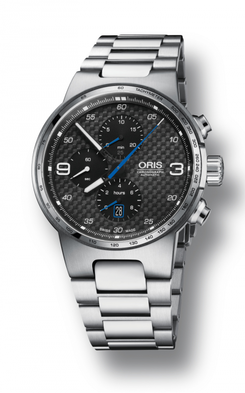 Oris Motor Sport Williams Chronograph Watch 01 774 7717 4164-07 8 24 50 product image