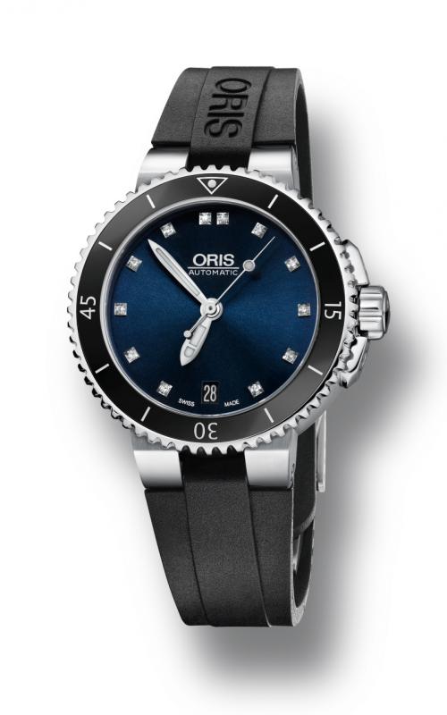 Oris Diving Aquis Date Diamonds Watch 01 733 7652 4195-07 4 18 34 product image