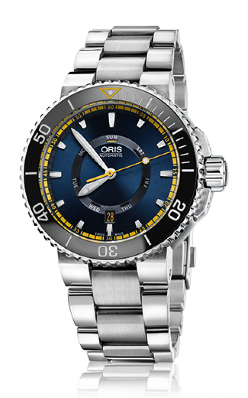 Oris Diving Aquis Great Barrier Reef Limited Edition II Watch 01 735 7673 4185-Set MB product image