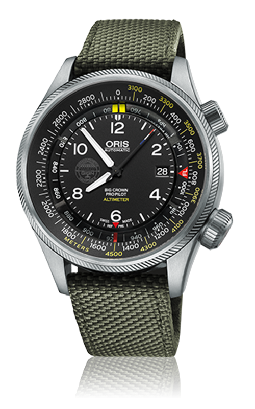 Oris Aviation Big Crown ProPilot GIGN Edition Limited Watch 733 7705 4184 5 23 14 FC product image