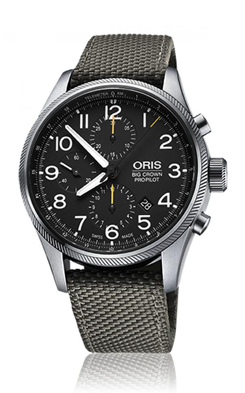 Oris Aviation Big Crown ProPilot Chronograph Watch 01 774 7699 4134-07 5 22 17FC product image