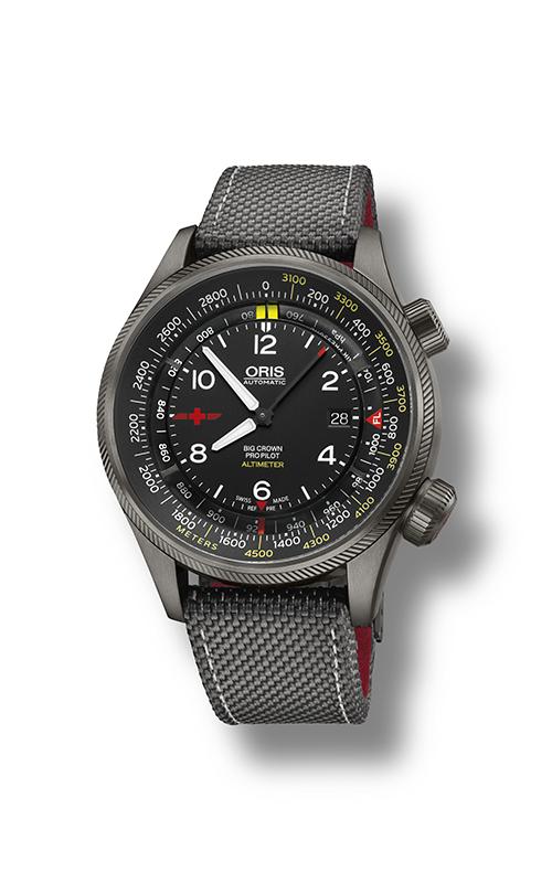 Oris Aviation Big Crown ProPilot Altimeter Rega Limited Edition Watch 01 733 7705 4264-Set5 23 16GFC product image