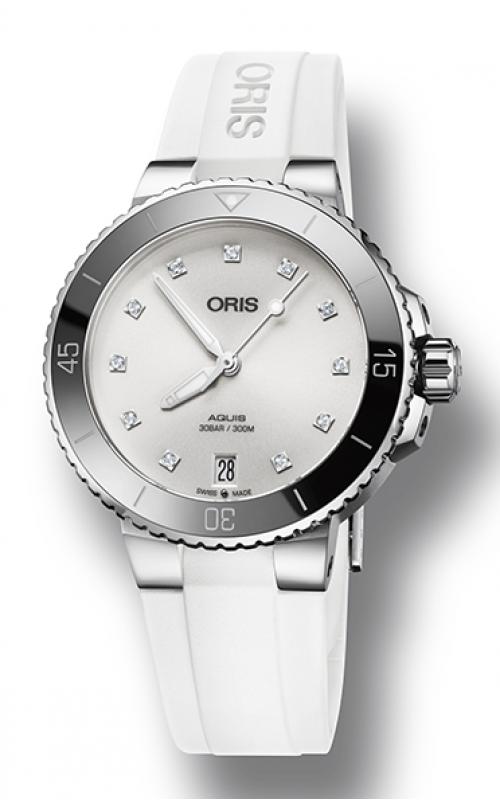 Oris Aquis Date Diamonds Watch 01 733 7731 4191-07 4 18 63FC product image