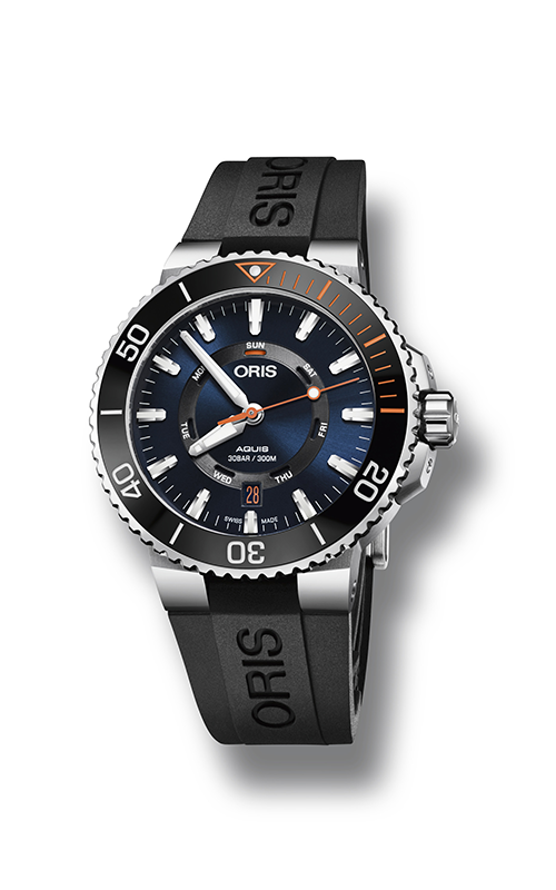 Oris Diving Aquis Staghorn Restoration Limited Edition Watch 01 735 7734 4185-Set RS product image