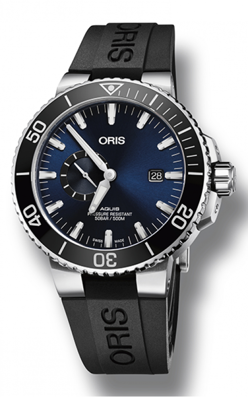 Oris Aquis Small Second, Date Watch 01 743 7733 4135-07 4 24 64EB product image