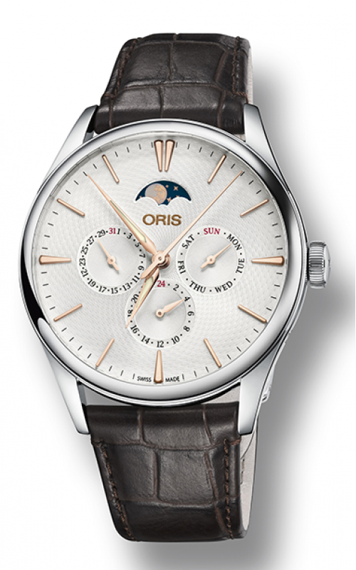 Oris Culture Artelier Complication Watch 01 781 7729 4031-07 5 21 65FC product image