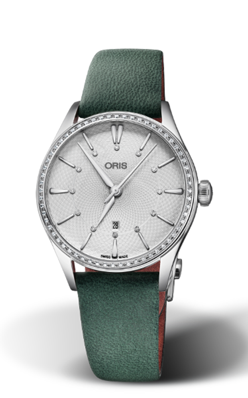 Oris Culture Artelier Date Diamonds Watch 01 561 7724 4951-07 5 17 35FC product image