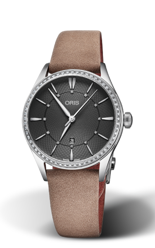 Oris Culture Artelier Date Diamonds Watch 01 561 7724 4953-07 5 17 33FC product image