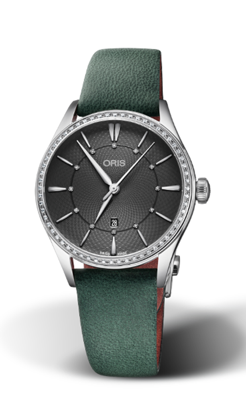 Oris Culture Artelier Date Diamonds Watch 01 561 7724 4953-07 5 17 35FC product image