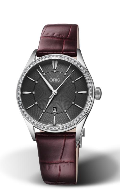 Oris Culture Artelier Date Diamonds Watch 01 561 7724 4953-07 5 17 63FC product image