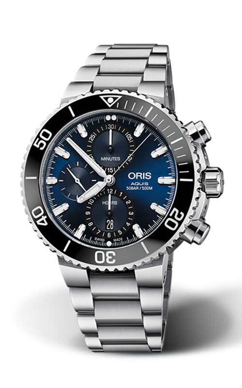Oris Aquis Chronograph Watch 01 774 7743 4155-07 8 24 05PEB product image