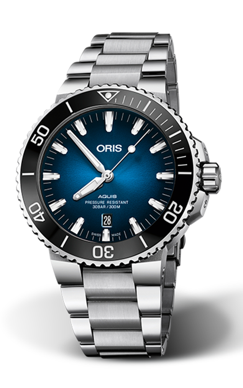 Oris Diving Aquis Clipperton Limited Edition Watch 01 733 7730 4185-Set RS product image