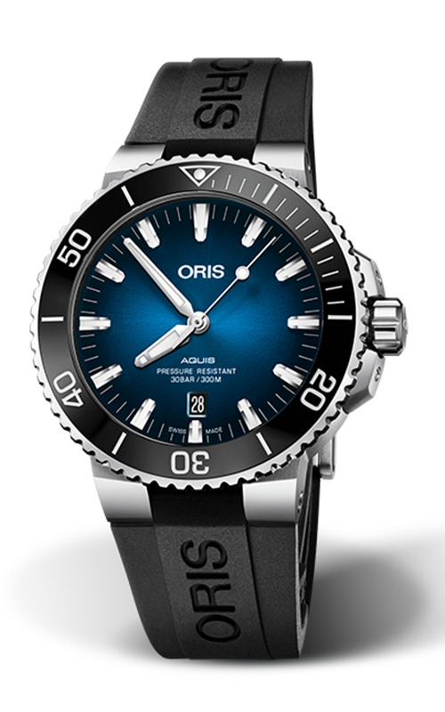 Oris Diving Aquis Clipperton Limited Edition Watch 01 733 7730 4185-Set MB product image