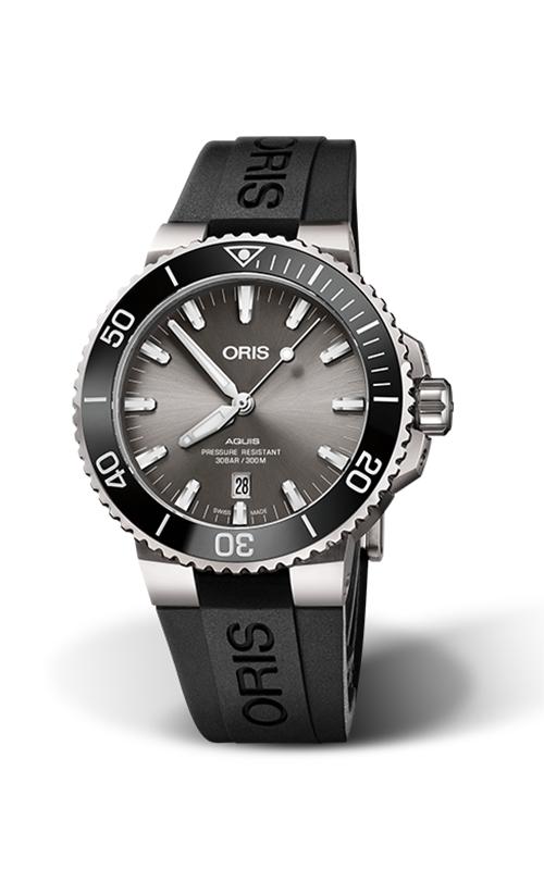 Oris Aquis Titanium Date Watch 01 733 7730 7153-07 4 24 64TEB product image
