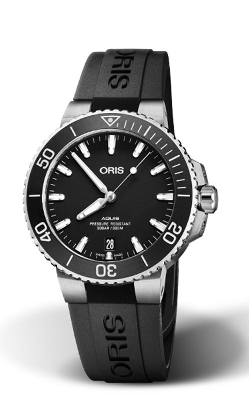 Oris Diving Aquis Date Watch 01 733 7732 4124-07 4 21 64FC product image
