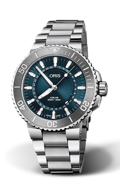 Oris Diving Aquis Source Of Life Limited Edition Watch  01 733 7730 4125-Set RS product image